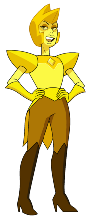Yellow Diamond by Red