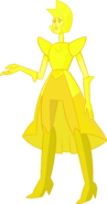Yellow Diamond (Comunicator Screen Palette) by RylerGamerDBS