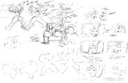 Garnet Fusion Szene Skizze 1