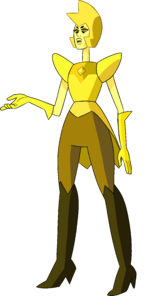 Yellow Diamond (Modelsheet Day Palette) by RylerGamerDBS