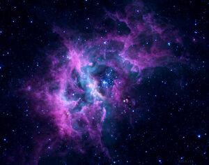 Purple Galaxy for Glitch