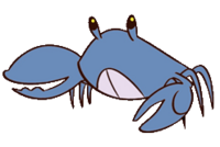 Blue Crab Normal PNG bruh