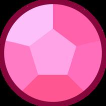 Rose gemstone