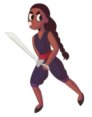 Connie the sword fighter