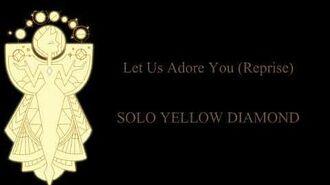 Let Us Adore You Reprise Yellow Diamond Solo (SU Movie)-0