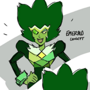 Emerald early color concept