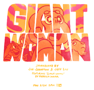 Giant Woman Promo Steven Gasping