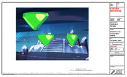 Peridot Gem Galaxy Warp Model Sheet