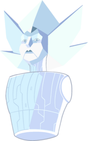 White Diamond Ship by RylerGamerDBS