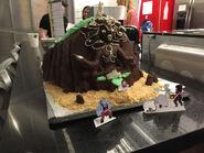 Bismuth Celebration Cake 0