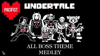 All Undertale Boss Theme Medley Pacifist - 4-Piano Orchestra - Undertale