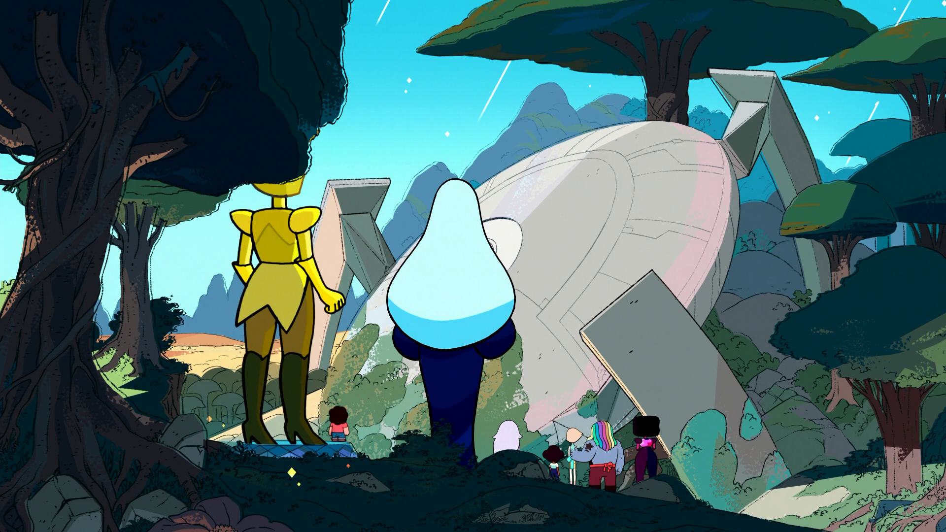 steven universe legs from here to homeworld release time
