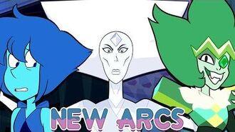 Steven Universe 3 New 2018 Arcs Explained! (Lapis, Emerald & White Diamond) Crystal Clear