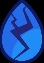 Lapis Lazuli gerissener Gem