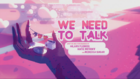 We Need to Talk Title Card