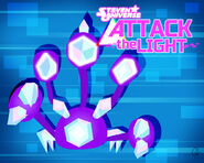 Attack the light purple scorpion wallpaper by ponychaos13-d974df0
