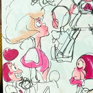 Pink Diamond and Spinel Movie Sketch