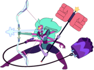 Alexandrite With All Weapons Redraw