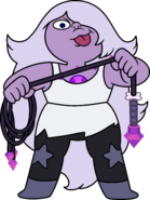 Amethyst Current with Whip