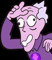 Amethyst old man