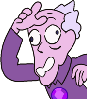 Amethyst old man