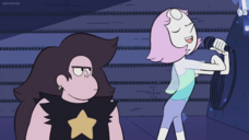We need to talk Pearl talking into Mic