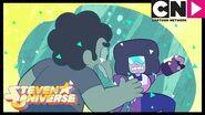 Steven Universe Garnet Almost Destroys Steven In Peridot's Escape Pod Joy Ride Cartoon Network