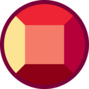 Камень гибрида рубина By Gekapy