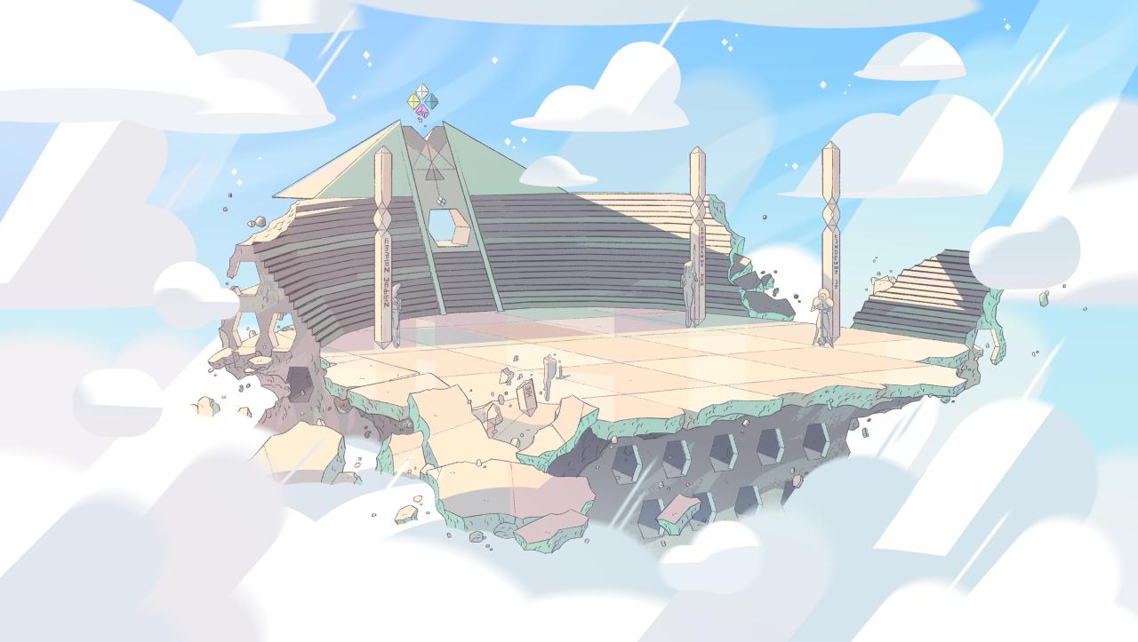 Image Result For Gem Buildings Steven Universe Concept Art