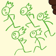 Centipeetle's Crew in Monster Reunion