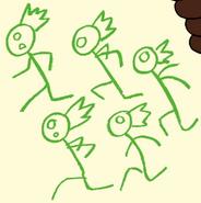 Centipeetle's Crew in Monster Reunion