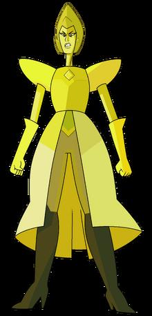 Żółty D