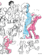 Steven and Spinel Movie Concept