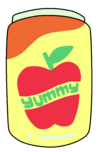 Yummy Apple Juice Png