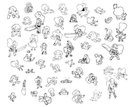 Morris Doodles 1