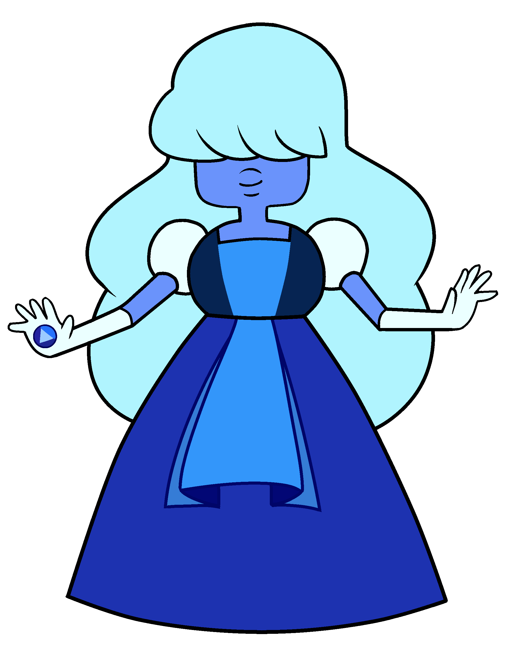 Dosya:Sapphire - Model Sheet PNG.png