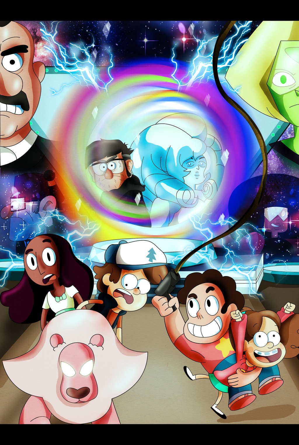 Gravity Falls And Steven Universe By Xeternalflamebryx D8lpqz3