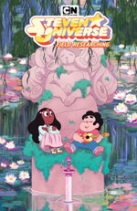 Steven Universe Field Researching Cover