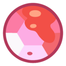 Cheryy quartz gem by Gekapy
