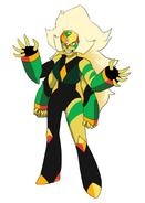 Jasper Peridot Fusion
