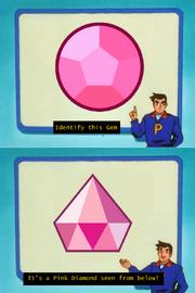 Pink Diamond from below