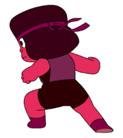 Ruby model sheet pose PNG test