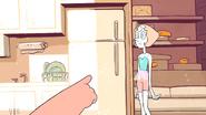 Gem Glow- Pearl was next to the fridge