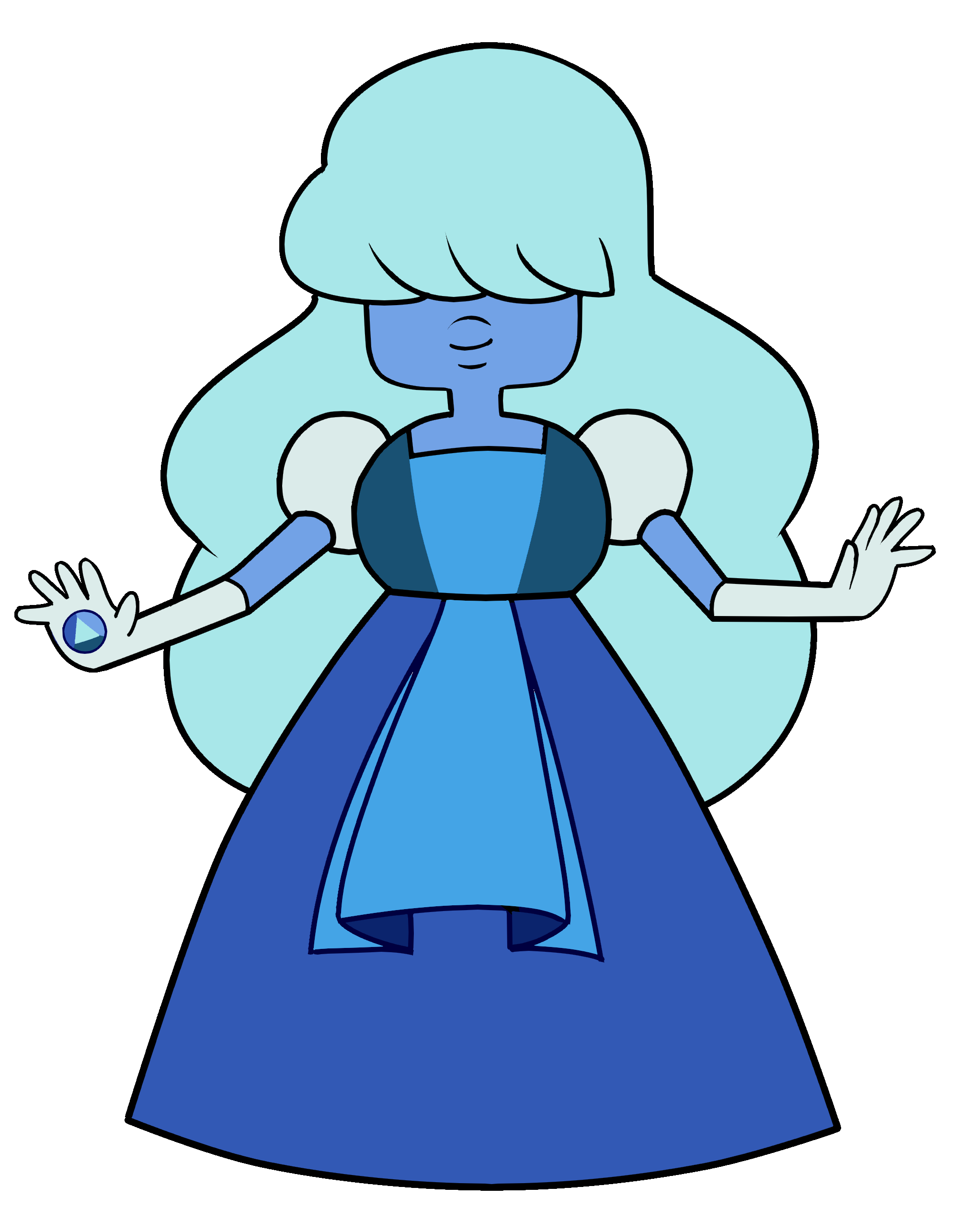 Image - Frozen Sapphire.png   Steven Universe Wiki   FANDOM powered ...