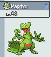 Raptor (Sceptile)