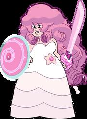 Rose quartz (pregnant) by Gekapy