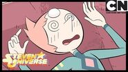 Steven Universe Pearl Punches Peridot Back to the Barn Cartoon Network