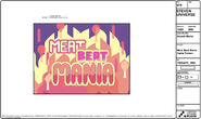 Arcade Mania Model Sheet Meat Beat Mania Screen