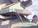 Пляжный домик
