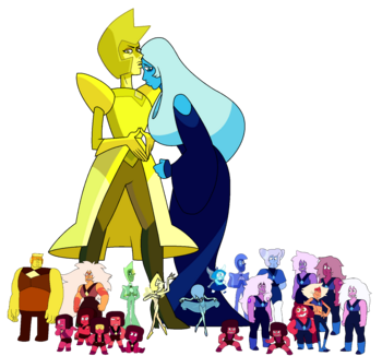 Klejnoty Homeworld Steven Universe Wiki Fandom Powered